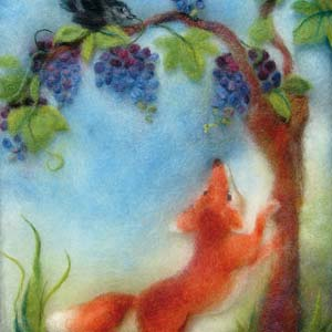 134. The Fox and the Grapes
