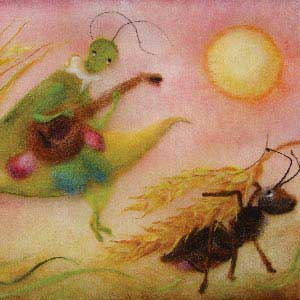 159. The Cricket and the Ant